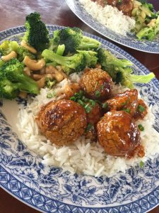 "Sweet and Sour ""Meatballs"""